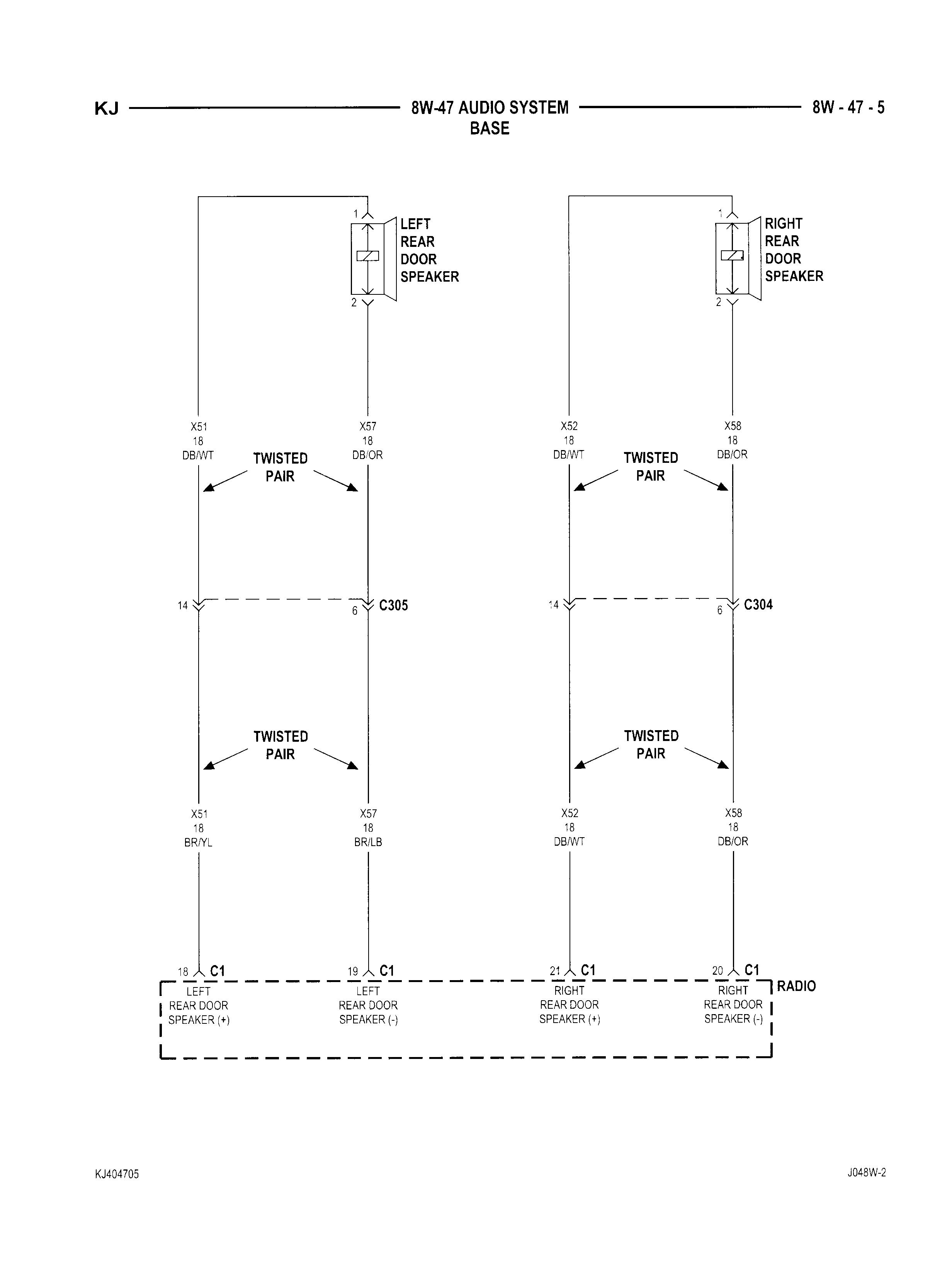 Decoding Whats Pos And Neg On Spkr Wires Jeep Liberty Forum Wiring Diagram 2003 Limited Hope These Help